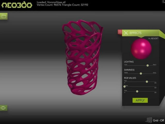 Neo3d L 39 Anteprima Stl Sul Tuo Tablet Android