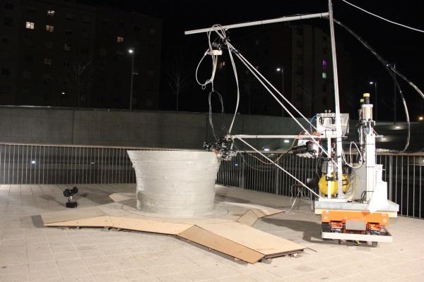 minibuilders IAAC Barcelona stampa 3d edilizia