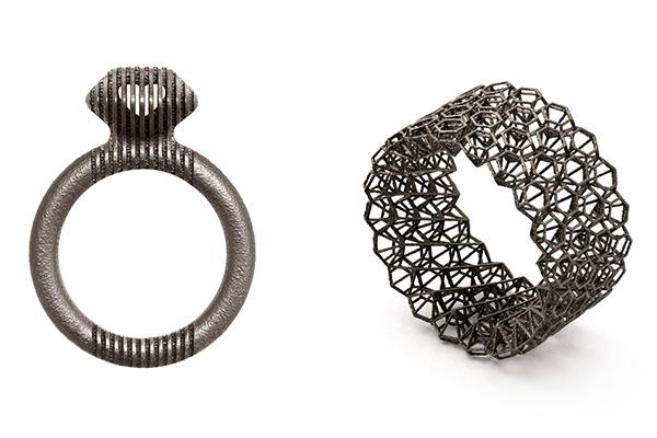 Il futuro della gioielleria la stampa 3d a metallo for Gioielli design
