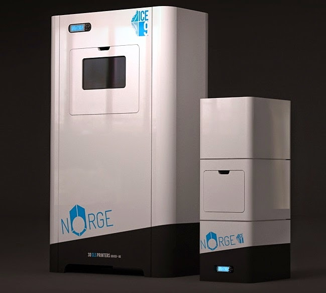 norg sls ice1 ice 9 3d printer guida alle stampanti 3D 2014