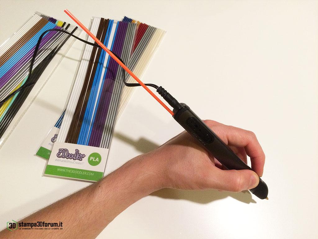 Recensione 3Doodler 2.0 penna stampa 3D 06