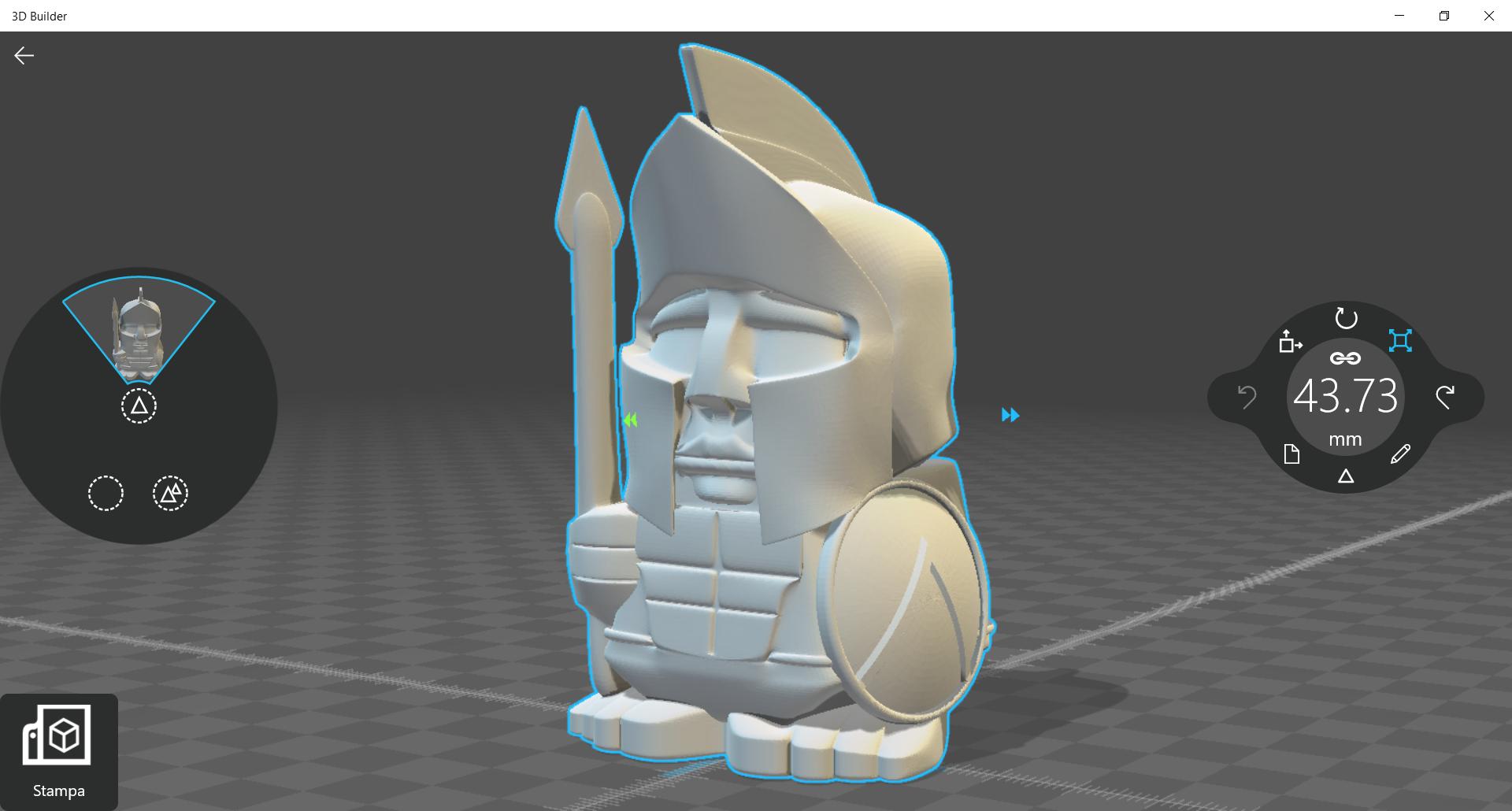 3D Builder modellatore 3D Windows 10 0