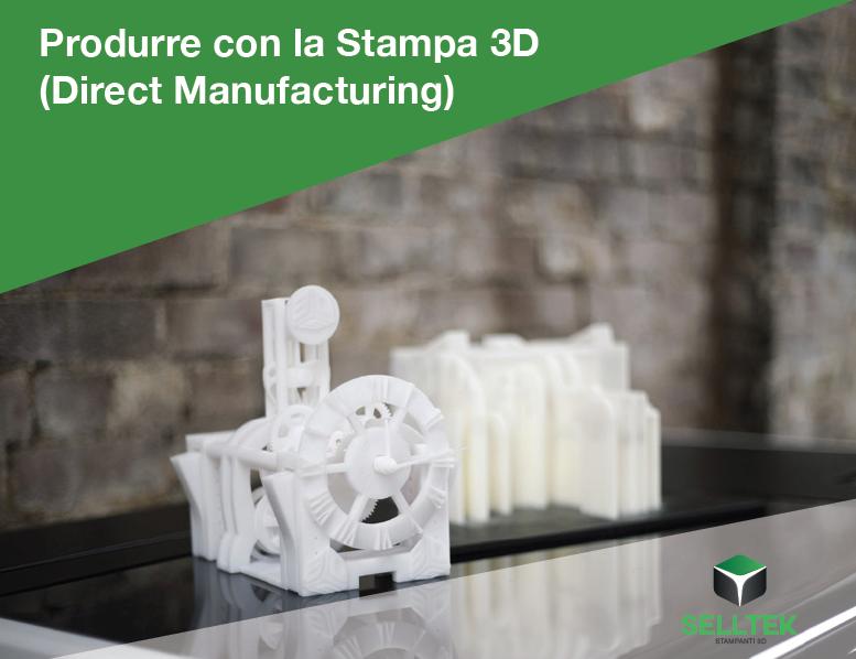 Produrre con la stampa 3D, un eBook gratis pronto da scaricare