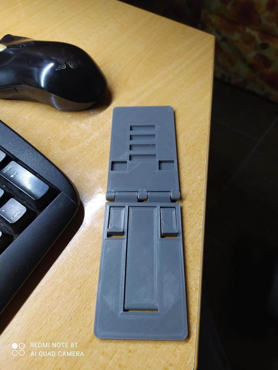porta telefono tascabile in PLA grigio Sunlu