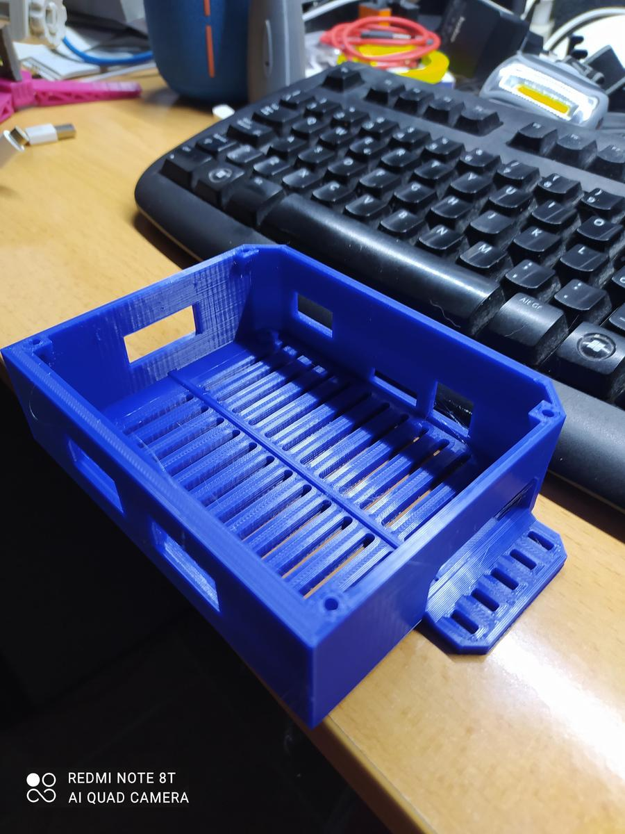 box elettronica SKR mini E3 V3 per Titan1 in PLA blu dark Amazonbasic