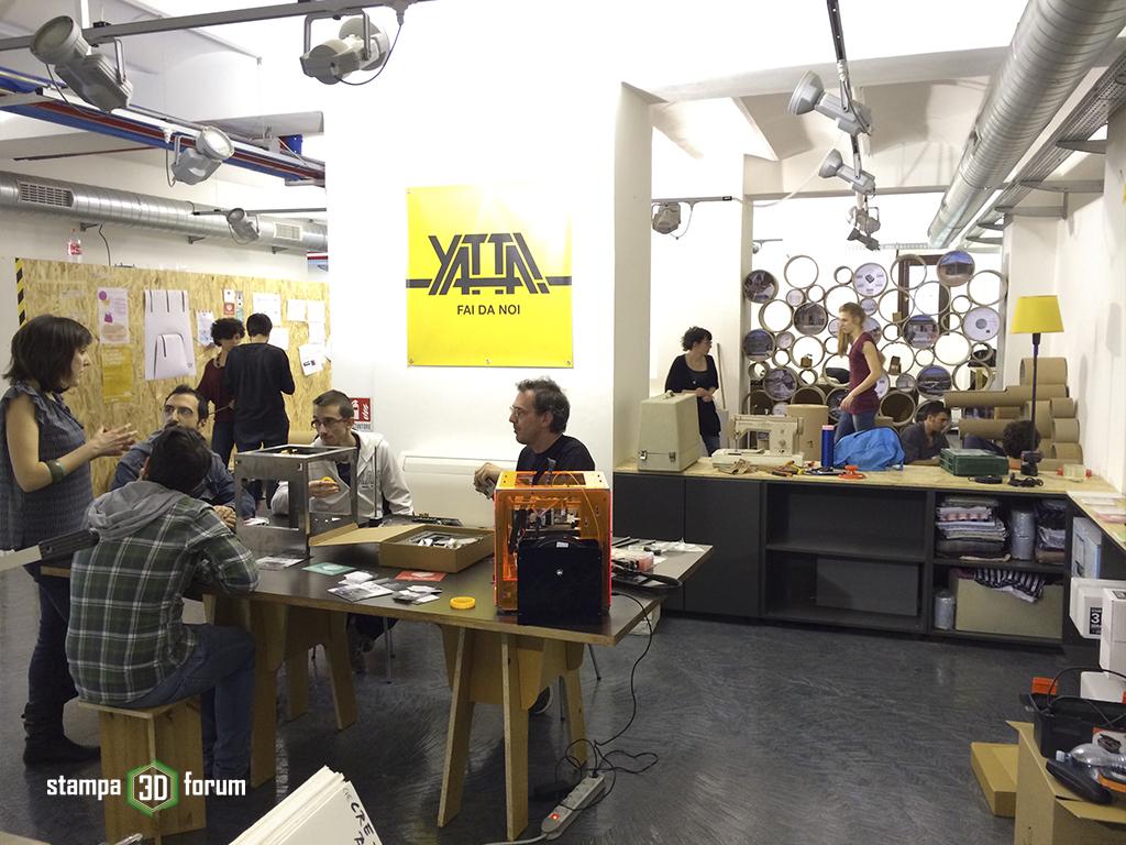 spazio yatta fablab milano stampa 3d forum 3