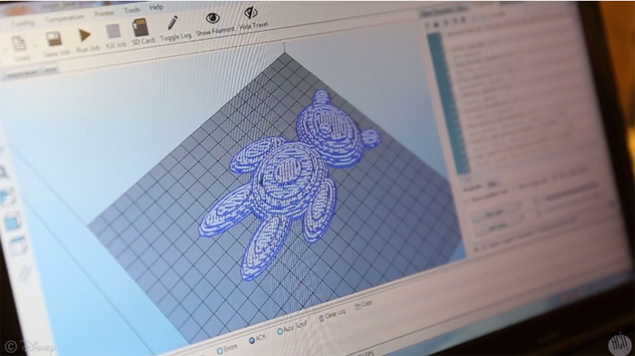 Disney research stampante 3d tessile lana orsacchiotto teddy stampato - stampa 3d forum 4