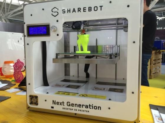 sharebot 3d print hub bologna