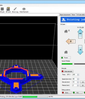 client software stampa 3d