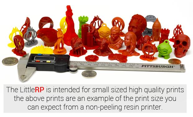LittleRP stampante 3D DLP economica