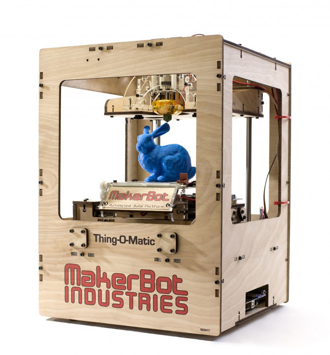 stampante 3d makerbot thing o matic