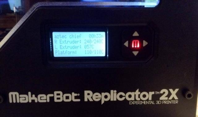 parametri makerbot desktop