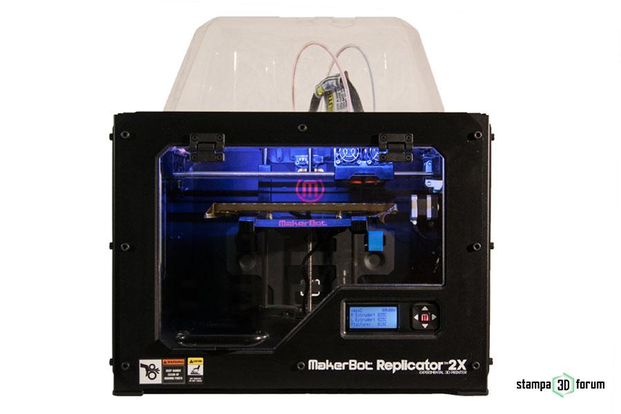 recensione Makerbot Replicator 2X
