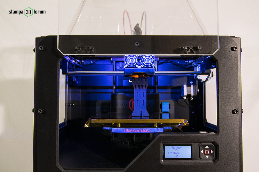 recensione Makerbot Replicator 2X