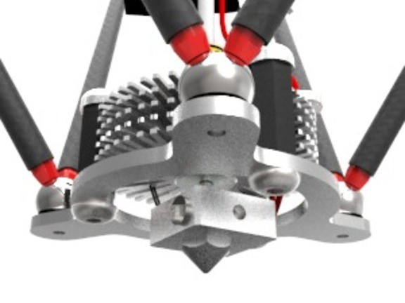 spiderbot delta 3d tss