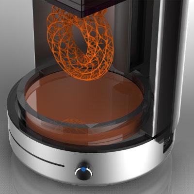 Kast 3D SLA printer