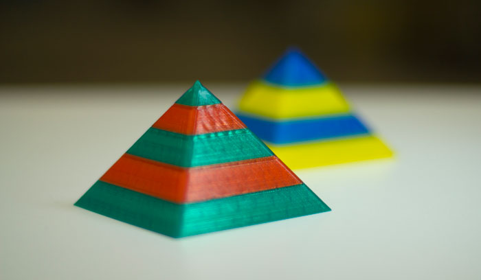 Mosaic manufacturing stampe 3d due colori