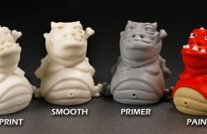post-produzione pezzi stampa 3d