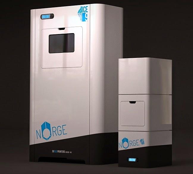 norg sls ice1 ice 9 3d printer guida alle stampanti 3D 2014