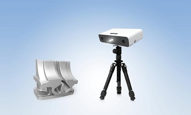 EinScan-S scanner 3d economico alta  risoluzione 3