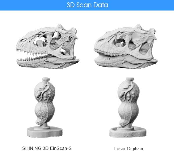 EinScan-S scanner 3d economico alta  risoluzione 7