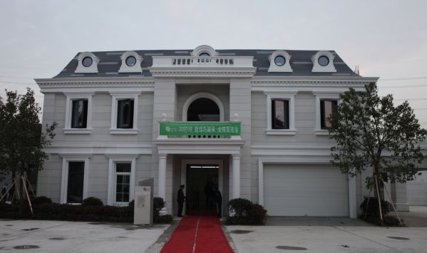 architettura villa edificio stampa 3d