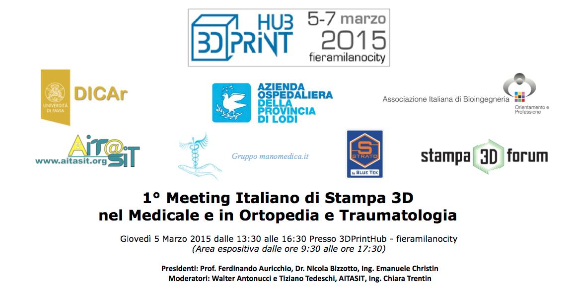 stampa 3d nel medicale ortopedia traumatologia