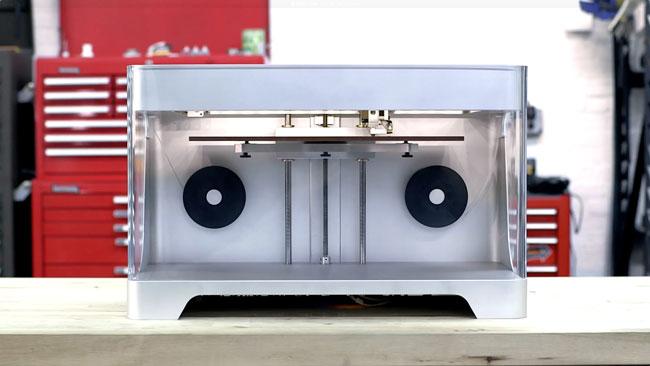 stampante 3d fibra di carbonio mark one