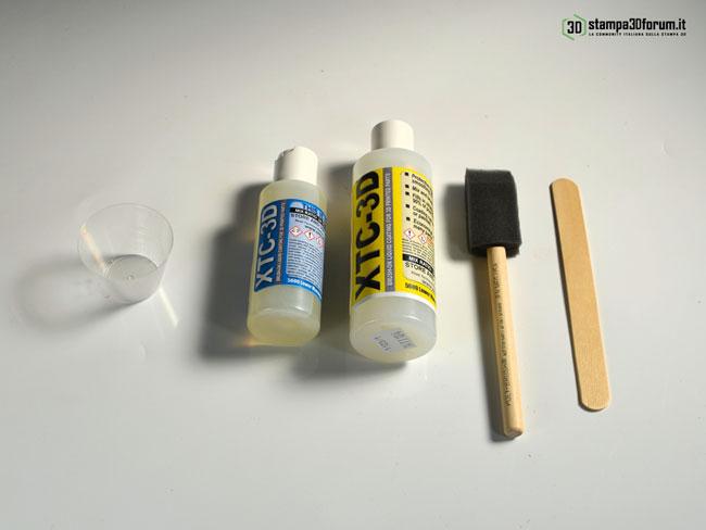 XTC-3D resina finitura