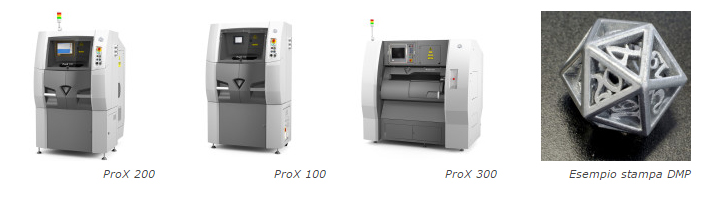 stampanti 3d systems dmp metallo