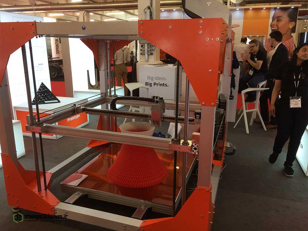 BigRep One.2 stampa 3D grandi dimensioni