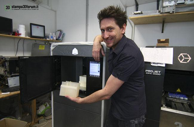 Service stampa 3D alta risoluzione definizione