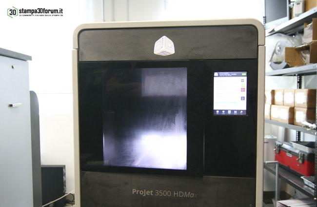 La 3D System Projet 3510 HD in azione