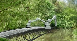 MX3D ponte in metallo stampato in 3D