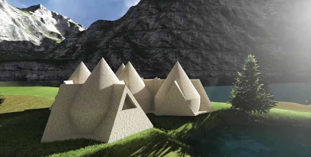 La stampante 3d pi grande del mondo bigdelta wasp for Il costo di costruire la propria casa