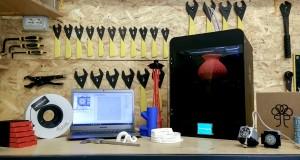 northype adam all in one 3d printer kickstarter