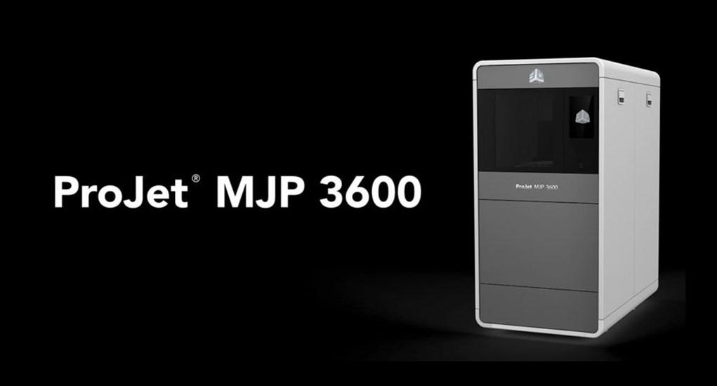 ProJet MJP 3600 3d systems
