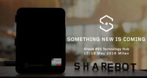 Nuova stampante 3D Sharebot