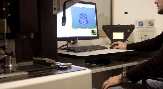 Lumi Industries VVD visualizzatore volumetrico tridimensionale